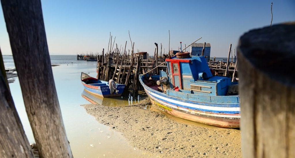Porto Palafítico da Carrasqueira, na Península de Troia.