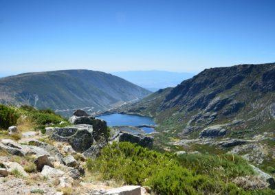 Lagoa na Serra da Estrela.