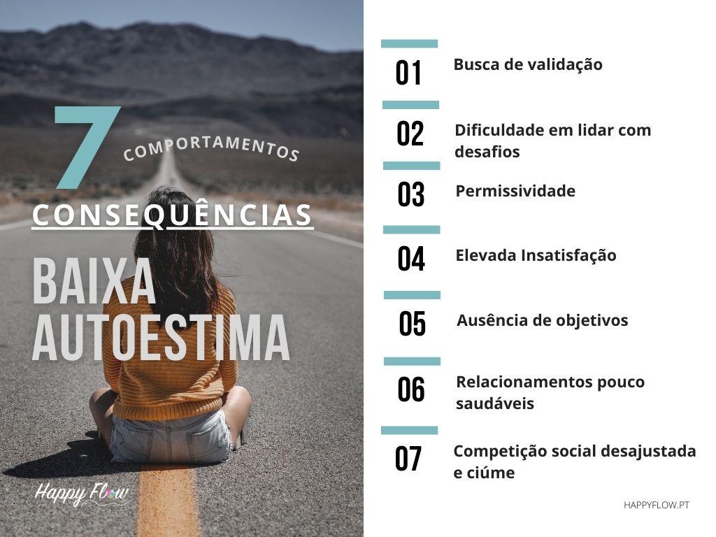 7 consequências da baixa autoestima