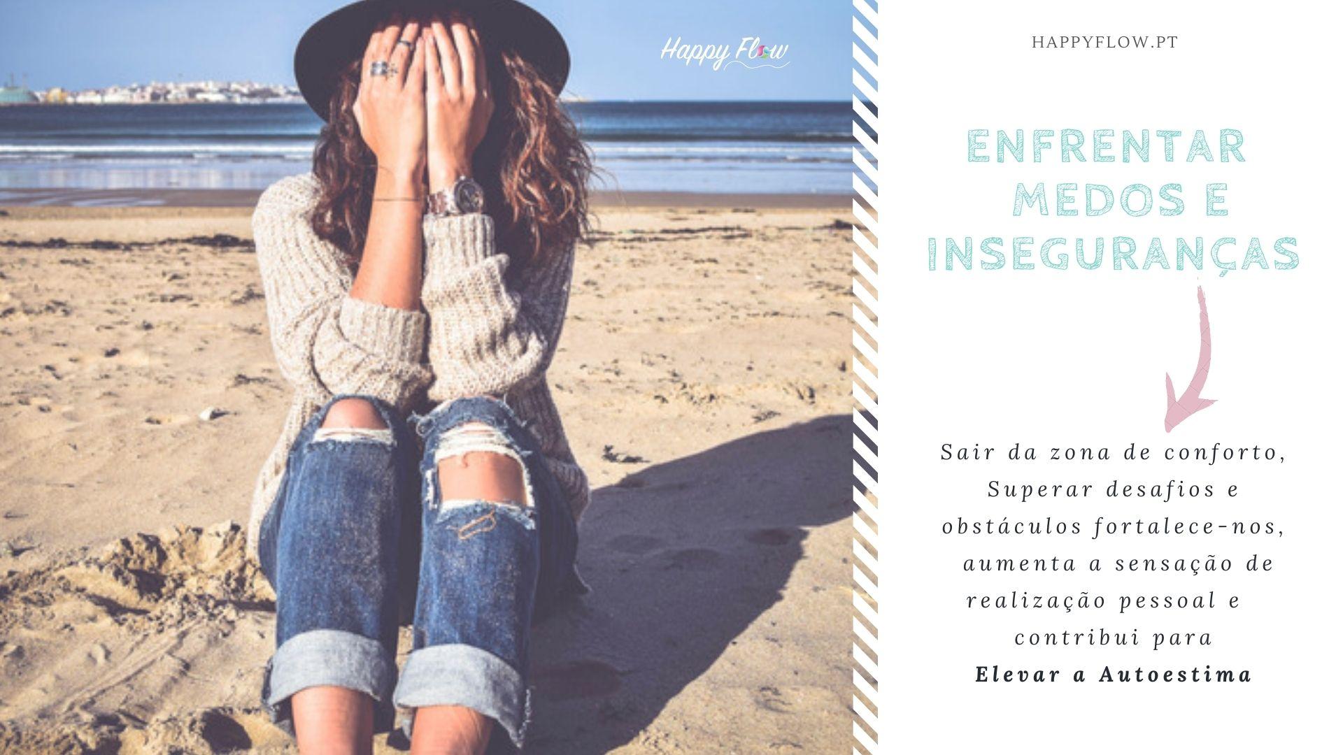 Enfrentar os medos e as inseguranças é uma boa forma de ganhar autoconfiança e elevar a autoestima